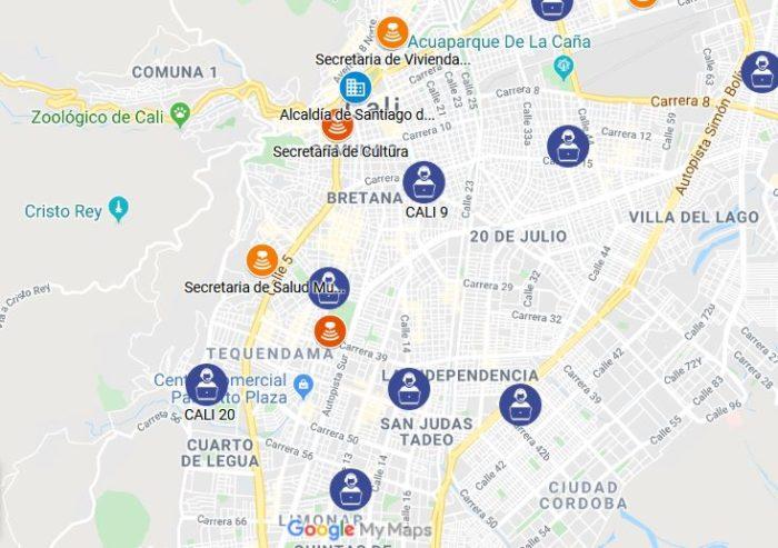 sisben santiago de cali -Canal presencial de Atención al Ciudadano