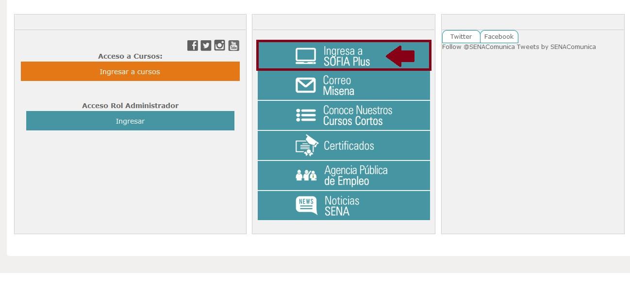 FIGURA 5. Sección SOFIA Plus (Sistema Optimizado para la Formación Integral del Aprendizaje Activo)