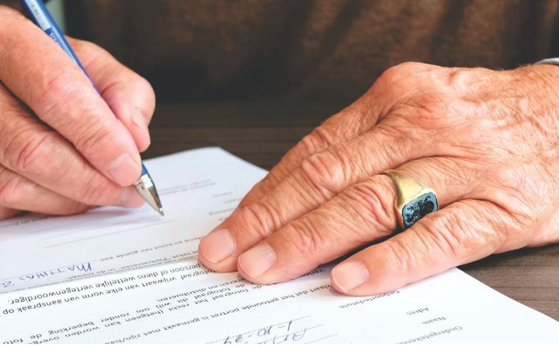firma carta certificación laboral