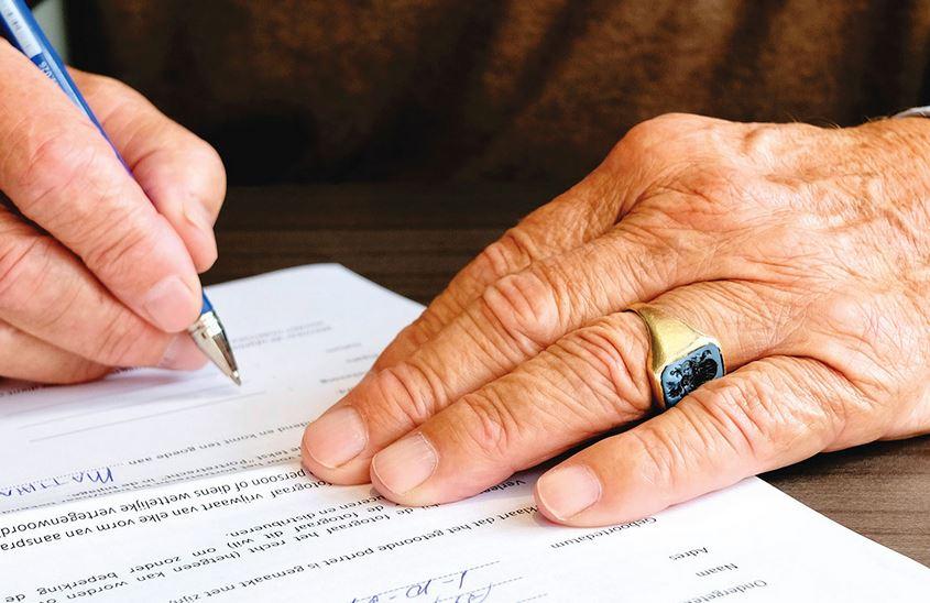 firma de carta de derecho de petición