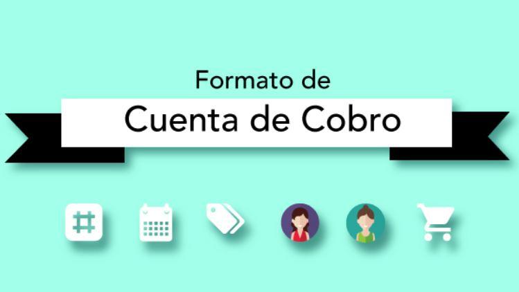 formato de cuenta de cobro para descargar en word